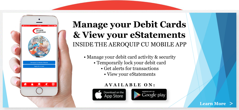 Manage My Cards & eStatements