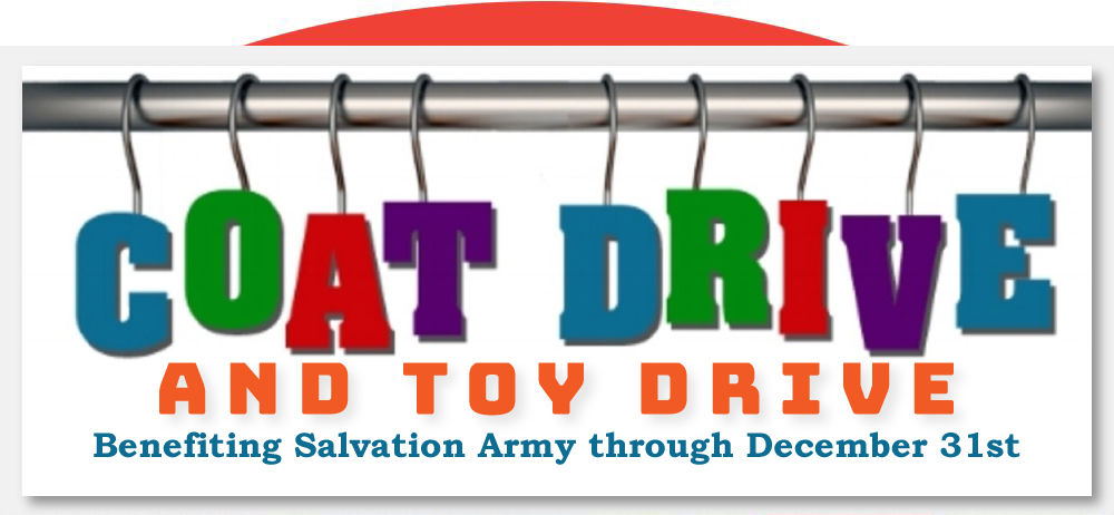 Coat and Toy Drive
